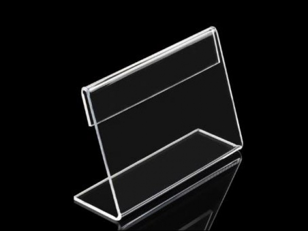 Card holder L-stand 60x40mm 5x