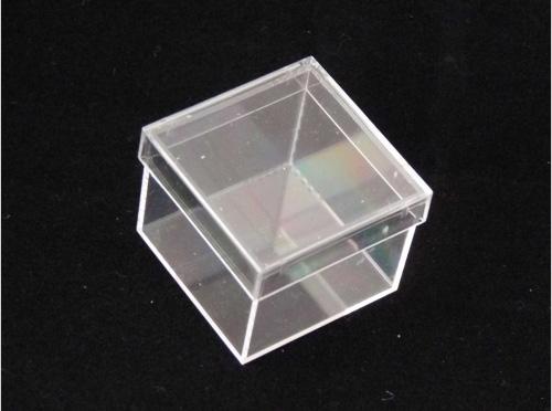 Micromount boxes 100 pieces transparent georockshop for Plastic doosjes