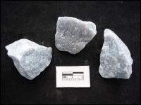 Quartz Blue rough