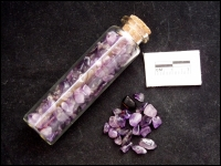 Bottle minerals large Amethyst