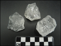 Quartz Crystal transparent middle